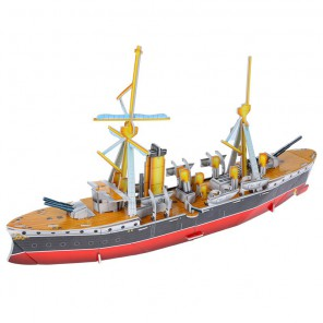 Китайский крейсер 3D Пазлы Zilipoo