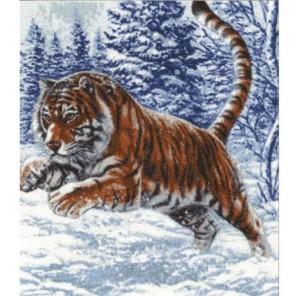 Прыжок тигра Набор для вышивания Золотое Руно