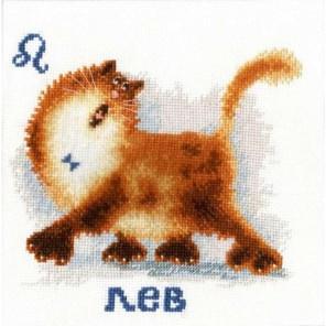 Знак зодиака Лев Набор для вышивания Золотое Руно