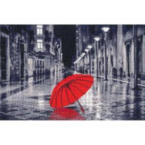 Красный зонтик Набор для вышивания Золотое Руно