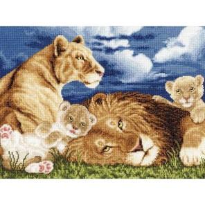 Львята Набор для вышивания Золотое Руно