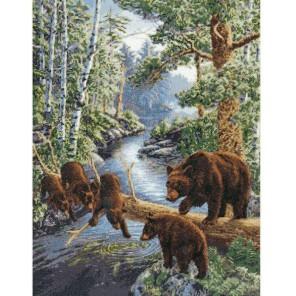 Медвежий край Набор для вышивания Золотое Руно