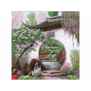 Весна в Японии Набор для вышивания Золотое Руно