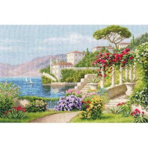 Цветущая Италия Набор для вышивания Золотое Руно