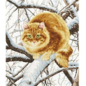 Рыжий кот Набор для вышивания Золотое Руно