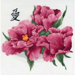 Бархатные тюльпаны Набор для вышивания Золотое Руно