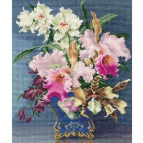 Цветы дальних стран Набор для вышивания Золотое Руно
