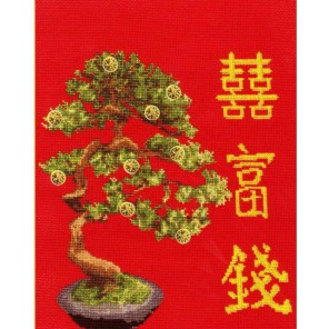 Денежное дерево Набор для вышивания Золотое Руно