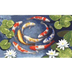 Карпы кои Набор для вышивания Золотое Руно