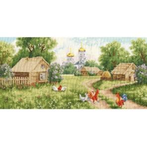 Утро в деревне Набор для вышивания Золотое Руно