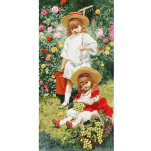 Портрет детей Набор для вышивания Золотое Руно