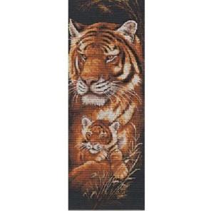 Тигрица Набор для вышивания Золотое Руно