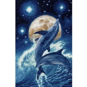 Дельфины Набор для вышивания Золотое Руно