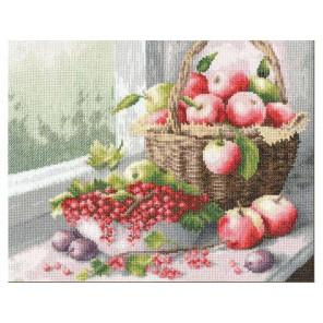 Яблочный спас Набор для вышивания Золотое Руно