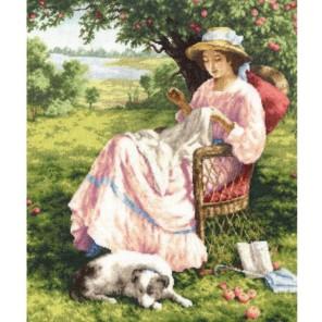 Яблоневый сад Набор для вышивания Золотое Руно