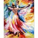 Танец любви Набор для вышивания Золотое Руно