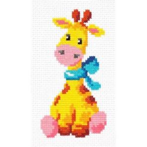 Жирафик Набор для вышивания Чудесная игла