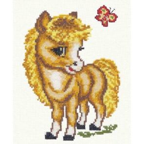 Веселая лошадка Набор для вышивания Чудесная игла