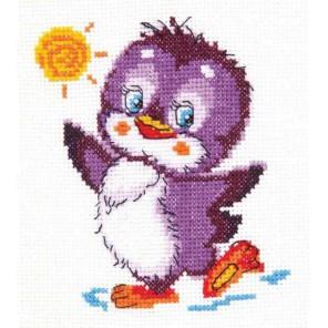 Крошка пингвинёнок Набор для вышивания Чудесная игла