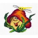 Веселый грибочек Набор для вышивания Чудесная игла