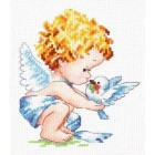 Светлый ангел! Набор для вышивания Чудесная игла