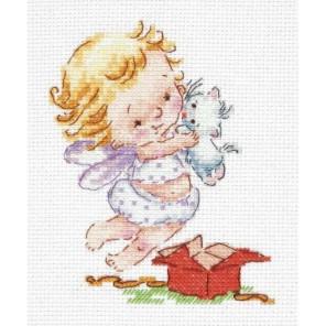 Люблю подарочки! Набор для вышивания Чудесная игла