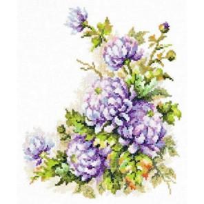 Хризантемы Набор для вышивания Чудесная игла