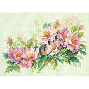 Розовый шиповник Набор для вышивания Чудесная игла