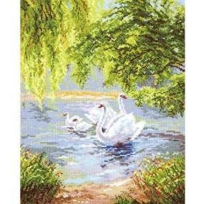 Лебеди Набор для вышивания Чудесная игла