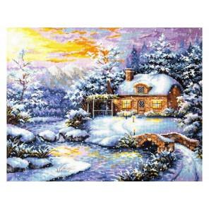 Зимняя сказка Набор для вышивания Чудесная игла