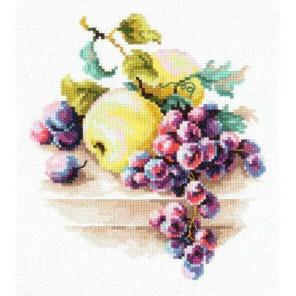 Виноград и яблоки Набор для вышивания Чудесная игла