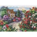 Цветущий сад Набор для вышивания Чудесная игла