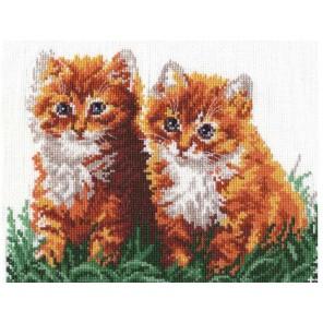 Рыжие друзья Набор для вышивания Чудесная игла