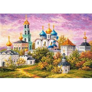 Сергиев Посад. Троице-Сергиева лавра Набор для вышивания Чудесная игла