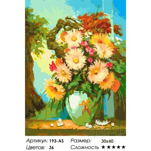 Сложность и количество цветов Японский натюрморт Раскраска картина по номерам акриловыми красками на холсте Белоснежка