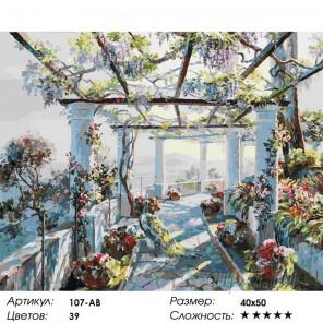 Сложность и количество цветов Павлин Раскраска картина по номерам акриловыми красками на холсте Белоснежка