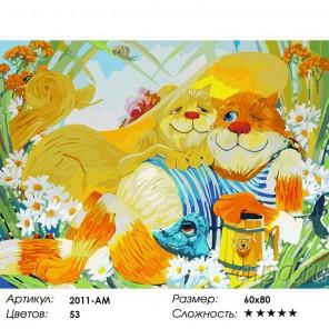 Идилия Раскраска картина по номерам акриловыми красками на холсте Белоснежка