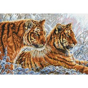 Амурские тигры Набор для вышивания Белоснежка