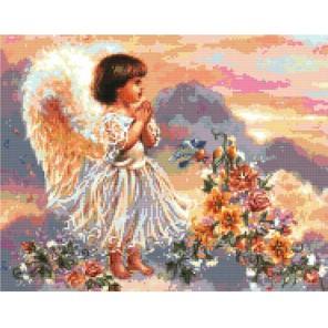 Ангел с цветами Набор для вышивания Белоснежка