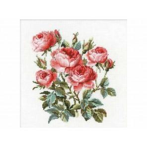 Садовые розы Набор для вышивания Риолис