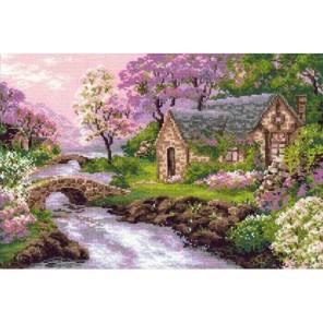 Весенний пейзаж Набор для вышивания Риолис