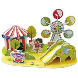 Парк развлечений (мини серия) 3D Пазлы Zilipoo