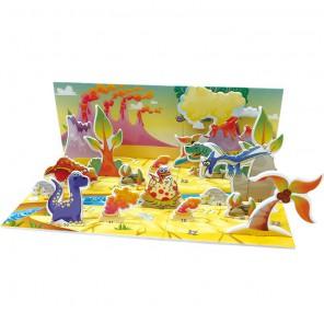Мир динозавров (мини серия) 3D Пазлы Zilipoo