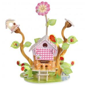 Домик садовода (мини серия) 3D Пазлы Zilipoo