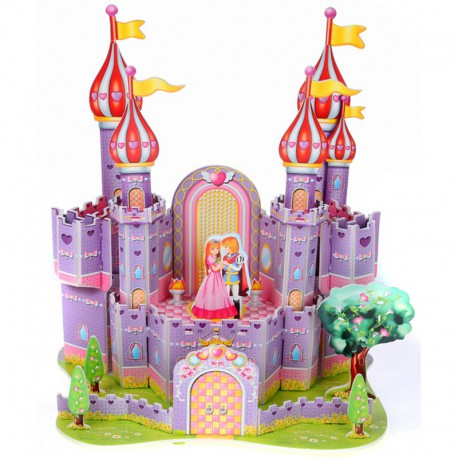 Фиолетовый замок (мини серия) 3D Пазлы Zilipoo