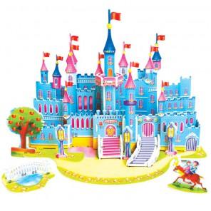 Голубой замок (мини серия) 3D Пазлы Zilipoo