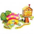 Грибной дом (мини серия) 3D Пазлы Zilipoo