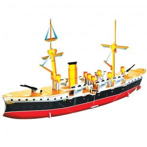 Китайский крейсер (мини серия) 3D Пазлы Zilipoo