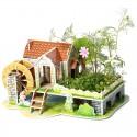 Радужный дом 3D Пазлы Zilipoo