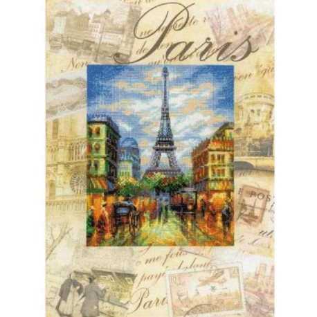 Города мира. Париж Набор для вышивания Риолис